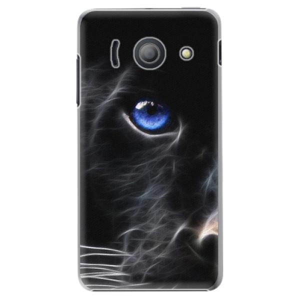 Plastové pouzdro iSaprio - Black Puma - Huawei Ascend Y300