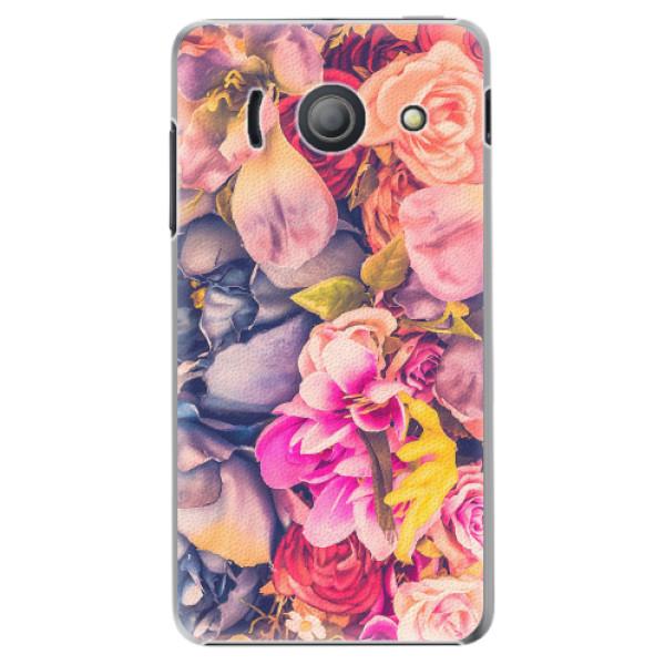 Plastové pouzdro iSaprio - Beauty Flowers - Huawei Ascend Y300