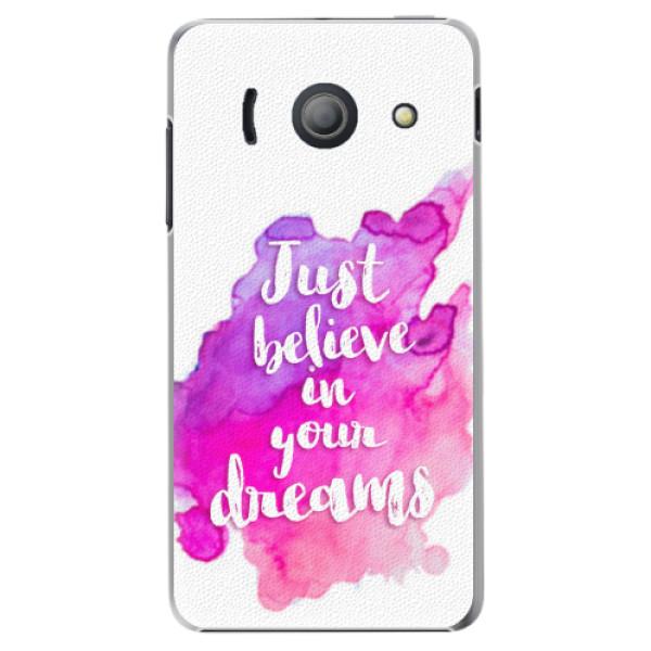 Plastové pouzdro iSaprio - Believe - Huawei Ascend Y300