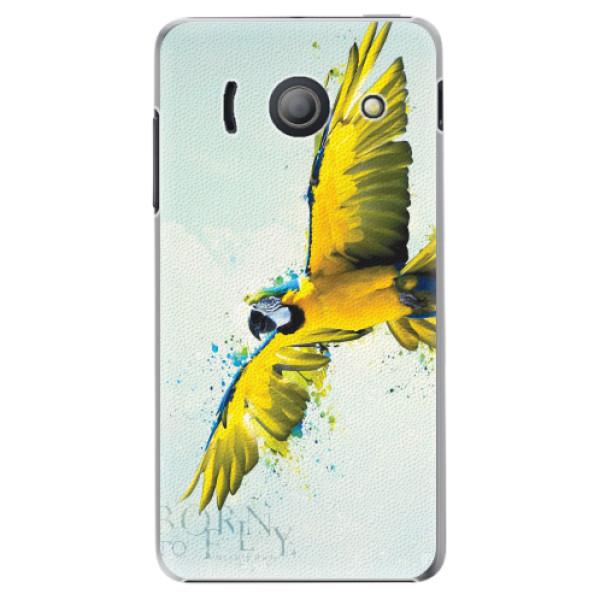 Plastové pouzdro iSaprio - Born to Fly - Huawei Ascend Y300
