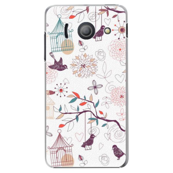 Plastové pouzdro iSaprio - Birds - Huawei Ascend Y300
