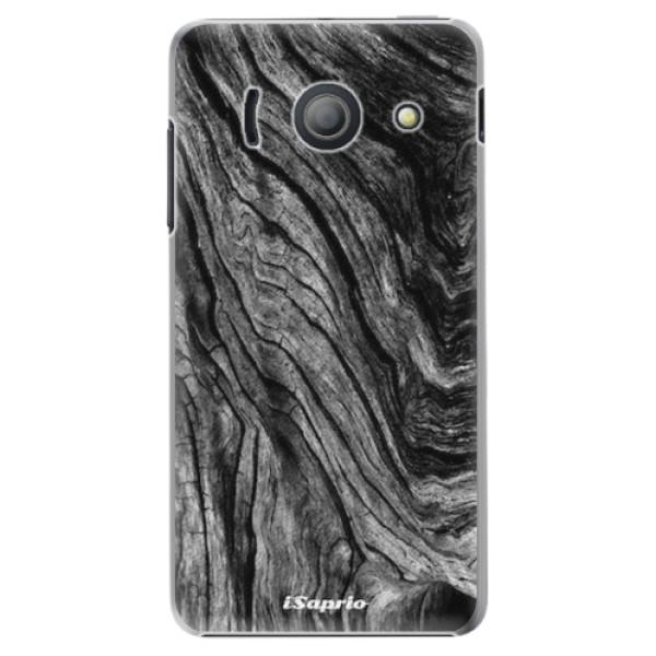 Plastové pouzdro iSaprio - Burned Wood - Huawei Ascend Y300