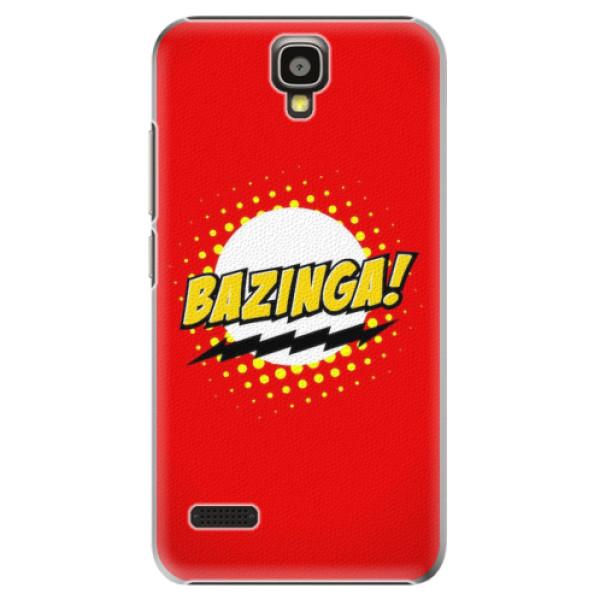 Plastové pouzdro iSaprio - Bazinga 01 - Huawei Ascend Y5