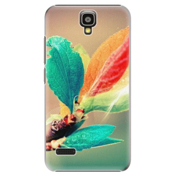 Plastové pouzdro iSaprio - Autumn 02 - Huawei Ascend Y5