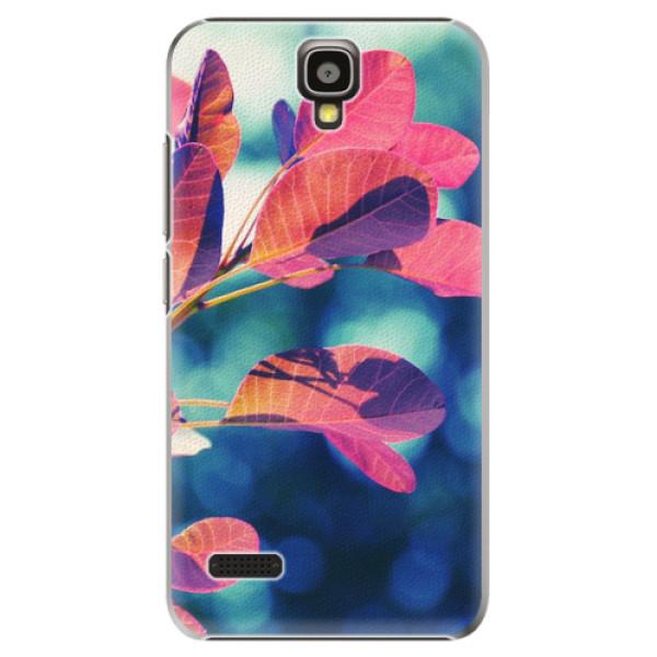 Plastové pouzdro iSaprio - Autumn 01 - Huawei Ascend Y5