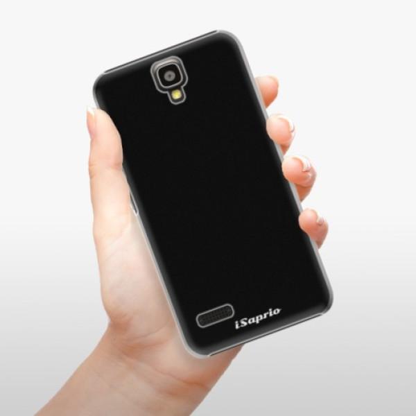 Plastové pouzdro iSaprio - 4Pure - černý - Huawei Ascend Y5