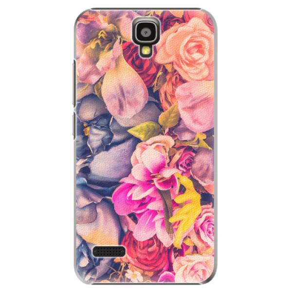 Plastové pouzdro iSaprio - Beauty Flowers - Huawei Ascend Y5