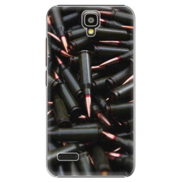 Plastové pouzdro iSaprio - Black Bullet - Huawei Ascend Y5
