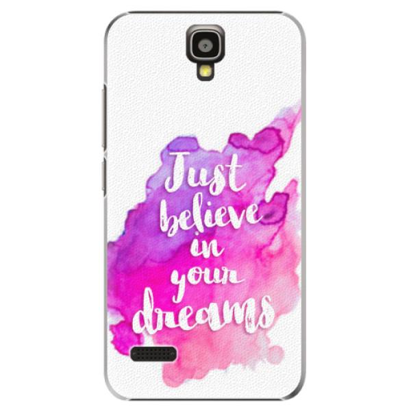 Plastové pouzdro iSaprio - Believe - Huawei Ascend Y5