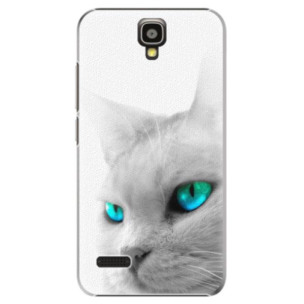 Plastové pouzdro iSaprio - Cats Eyes - Huawei Ascend Y5
