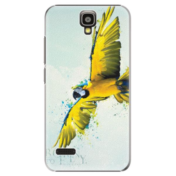 Plastové pouzdro iSaprio - Born to Fly - Huawei Ascend Y5
