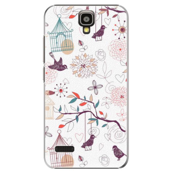 Plastové pouzdro iSaprio - Birds - Huawei Ascend Y5