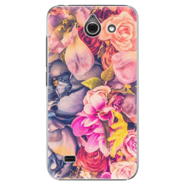 Plastové pouzdro iSaprio - Beauty Flowers - Huawei Ascend Y550