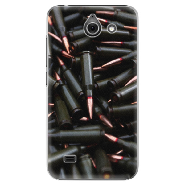 Plastové pouzdro iSaprio - Black Bullet - Huawei Ascend Y550