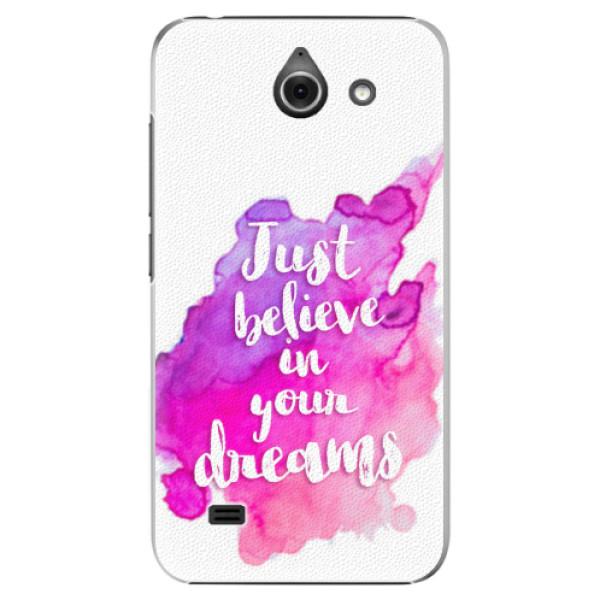 Plastové pouzdro iSaprio - Believe - Huawei Ascend Y550