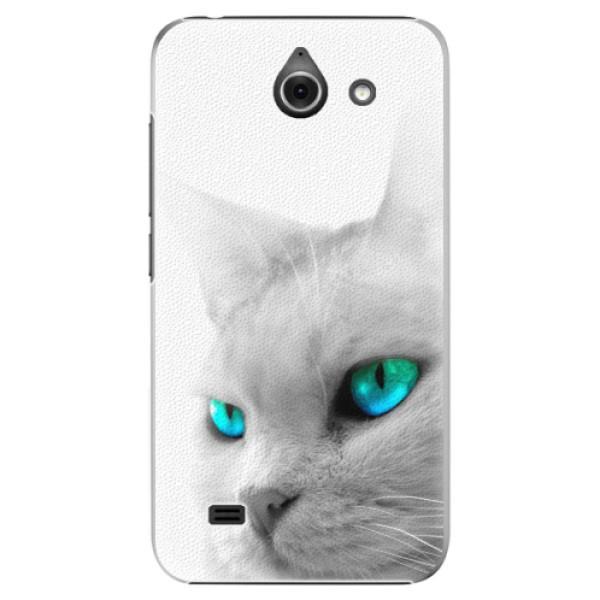 Plastové pouzdro iSaprio - Cats Eyes - Huawei Ascend Y550