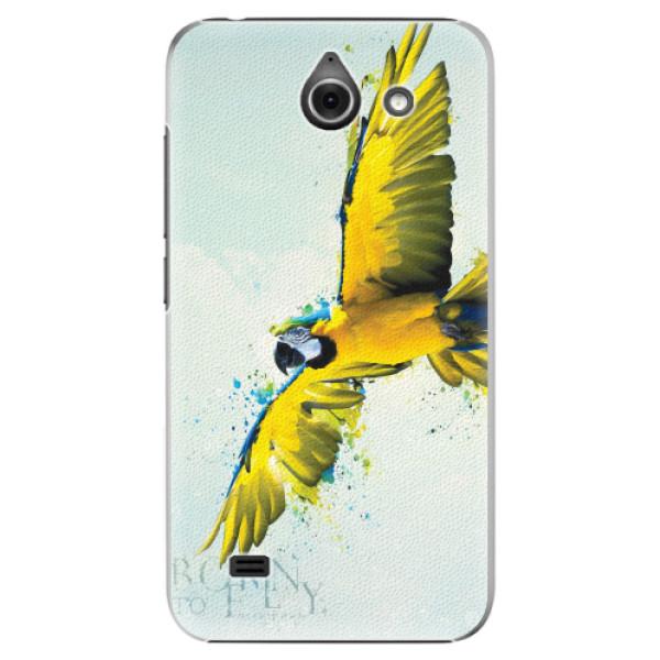 Plastové pouzdro iSaprio - Born to Fly - Huawei Ascend Y550