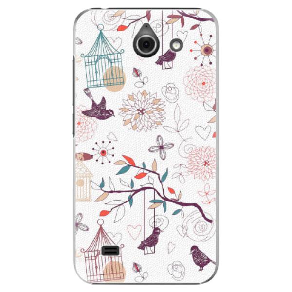 Plastové pouzdro iSaprio - Birds - Huawei Ascend Y550
