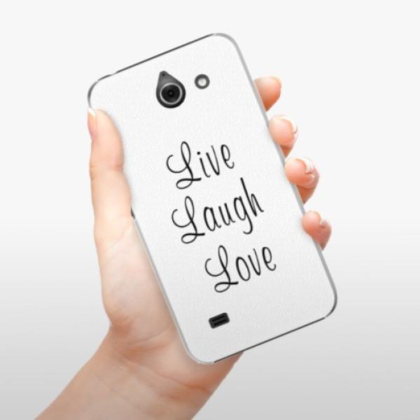 Plastové pouzdro iSaprio - Live Laugh Love - Huawei Ascend Y550