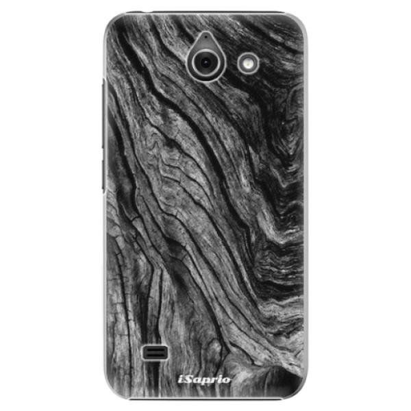 Plastové pouzdro iSaprio - Burned Wood - Huawei Ascend Y550