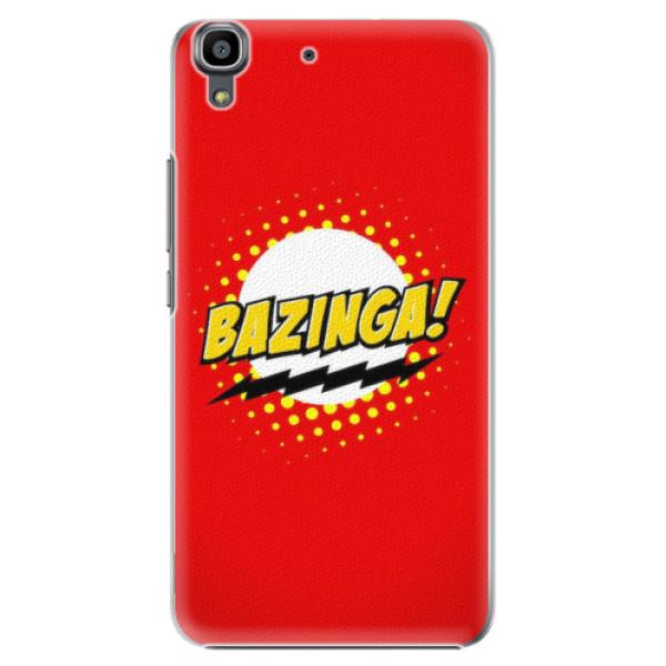 Plastové pouzdro iSaprio - Bazinga 01 - Huawei Ascend Y6