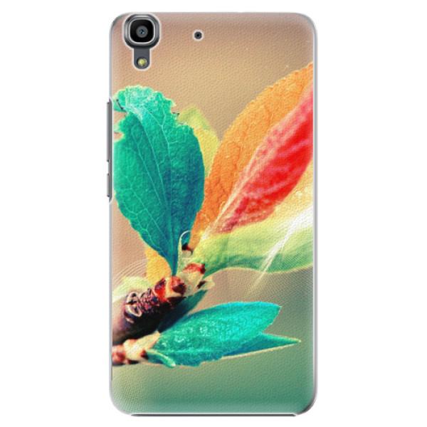 Plastové pouzdro iSaprio - Autumn 02 - Huawei Ascend Y6