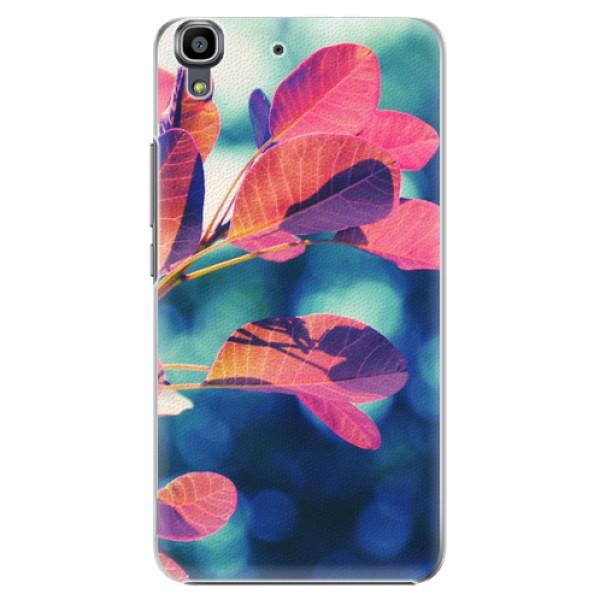 Plastové pouzdro iSaprio - Autumn 01 - Huawei Ascend Y6