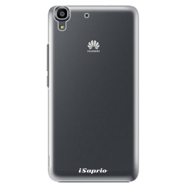 Plastové pouzdro iSaprio - 4Pure - mléčný bez potisku - Huawei Ascend Y6