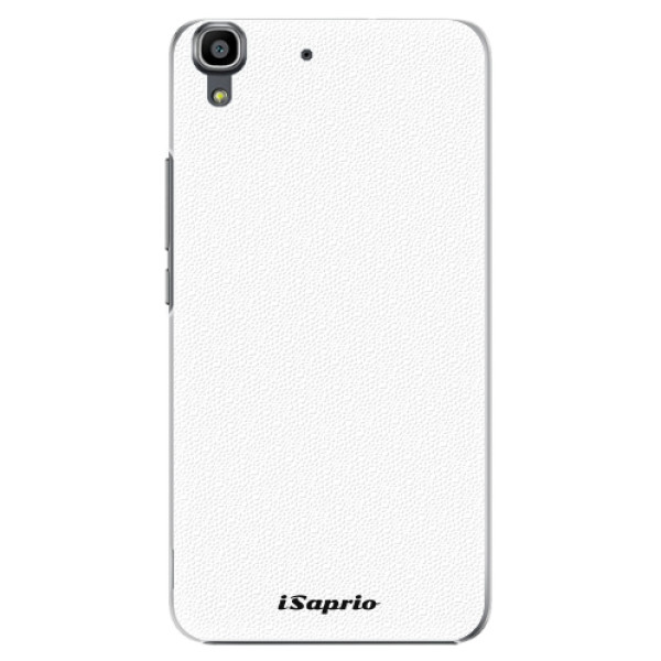 Plastové pouzdro iSaprio - 4Pure - bílý - Huawei Ascend Y6
