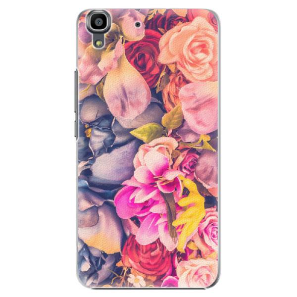 Plastové pouzdro iSaprio - Beauty Flowers - Huawei Ascend Y6