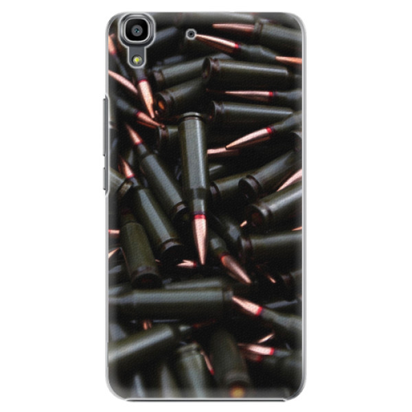 Plastové pouzdro iSaprio - Black Bullet - Huawei Ascend Y6