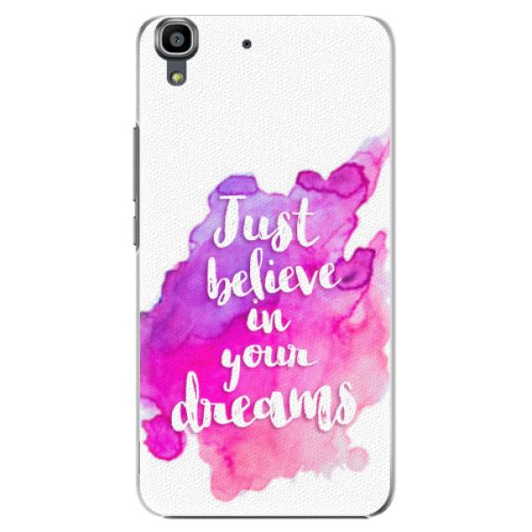 Plastové pouzdro iSaprio - Believe - Huawei Ascend Y6