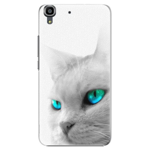 Plastové pouzdro iSaprio - Cats Eyes - Huawei Ascend Y6