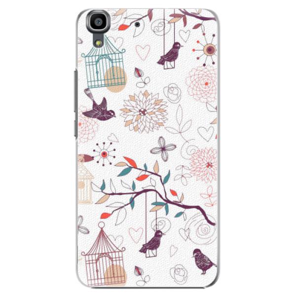 Plastové pouzdro iSaprio - Birds - Huawei Ascend Y6