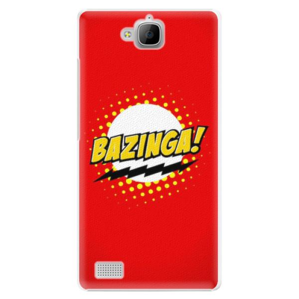 Plastové pouzdro iSaprio - Bazinga 01 - Huawei Honor 3C