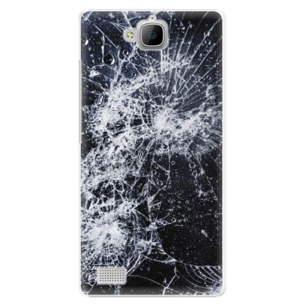 Plastové pouzdro iSaprio - Cracked - Huawei Honor 3C