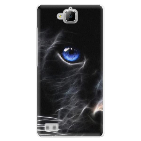 Plastové pouzdro iSaprio - Black Puma - Huawei Honor 3C