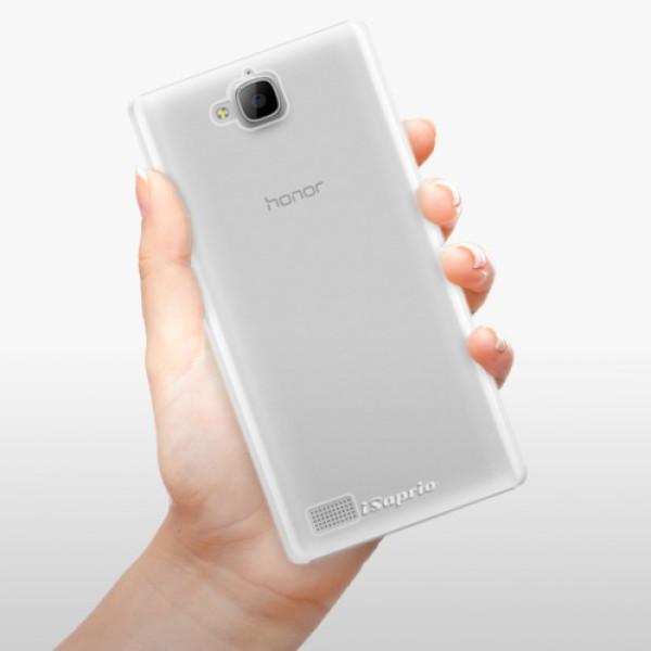Plastové pouzdro iSaprio - 4Pure - mléčný bez potisku - Huawei Honor 3C