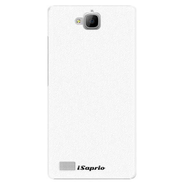 Plastové pouzdro iSaprio - 4Pure - bílý - Huawei Honor 3C