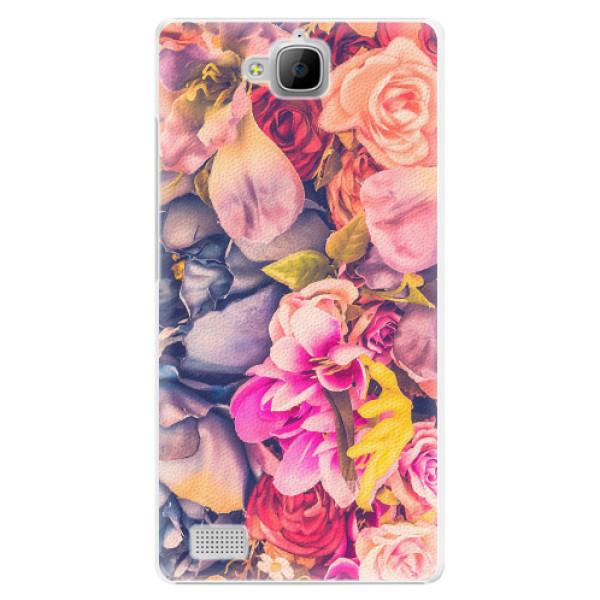 Plastové pouzdro iSaprio - Beauty Flowers - Huawei Honor 3C