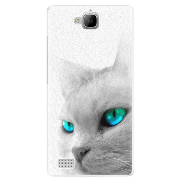 Plastové pouzdro iSaprio - Cats Eyes - Huawei Honor 3C