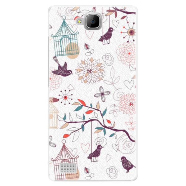 Plastové pouzdro iSaprio - Birds - Huawei Honor 3C