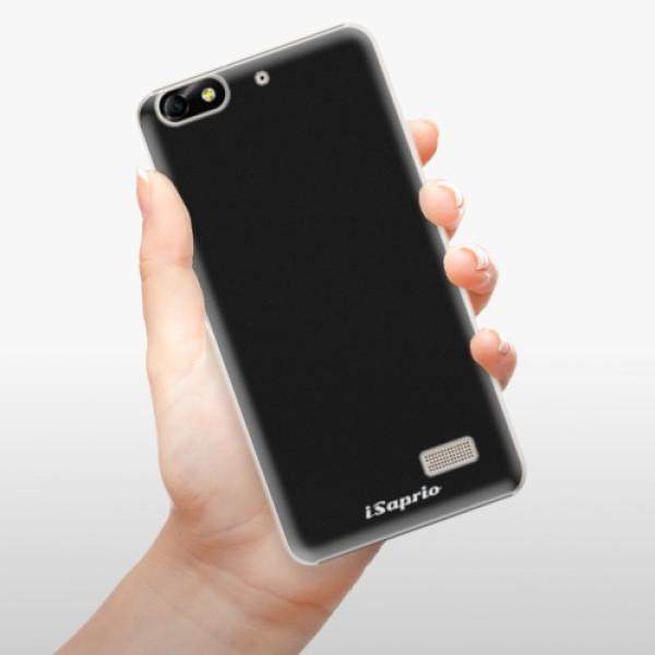 Plastové pouzdro iSaprio - 4Pure - černý - Huawei Honor 4C