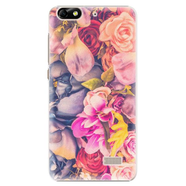 Plastové pouzdro iSaprio - Beauty Flowers - Huawei Honor 4C