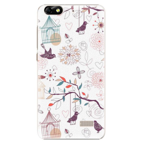 Plastové pouzdro iSaprio - Birds - Huawei Honor 4C