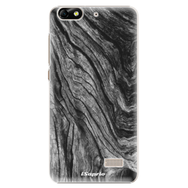 Plastové pouzdro iSaprio - Burned Wood - Huawei Honor 4C