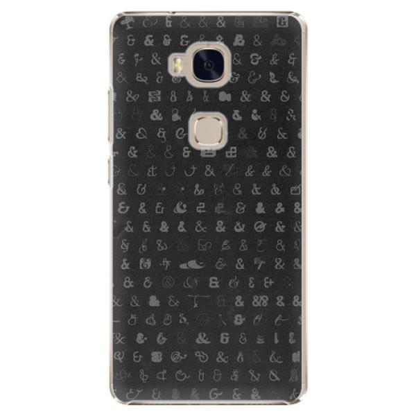 Plastové pouzdro iSaprio - Ampersand 01 - Huawei Honor 5X
