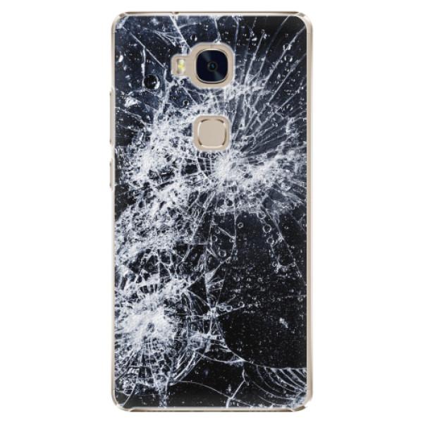Plastové pouzdro iSaprio - Cracked - Huawei Honor 5X