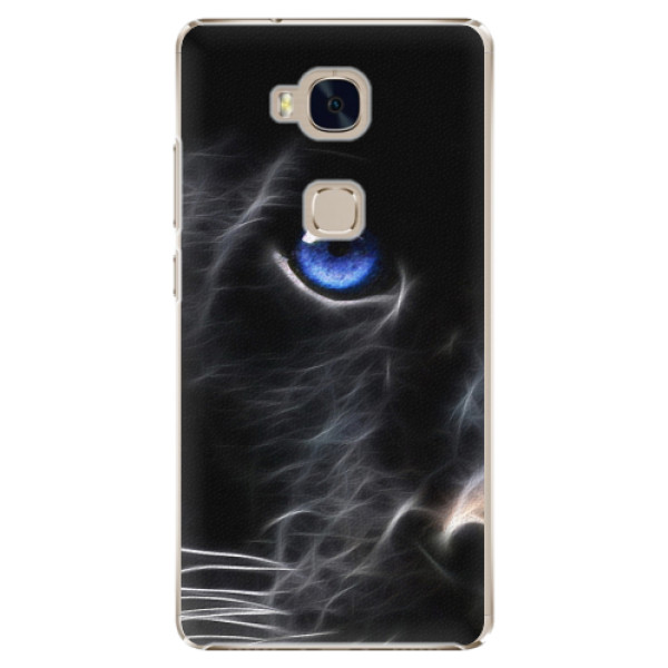 Plastové pouzdro iSaprio - Black Puma - Huawei Honor 5X