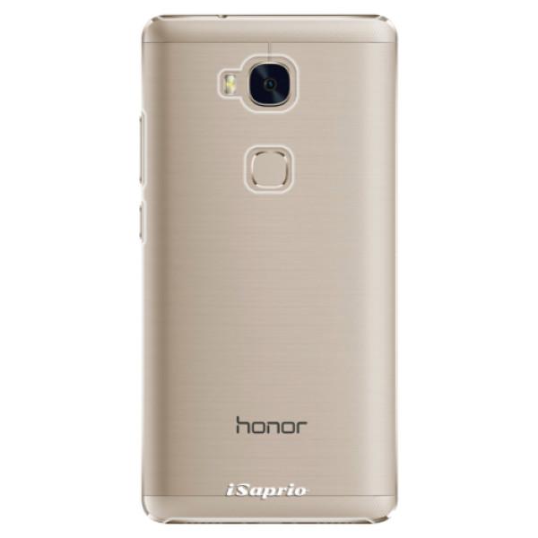 Plastové pouzdro iSaprio - 4Pure - mléčný bez potisku - Huawei Honor 5X